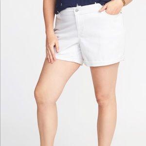 Old Navy Plus Size Boyfriend Shorts 😘